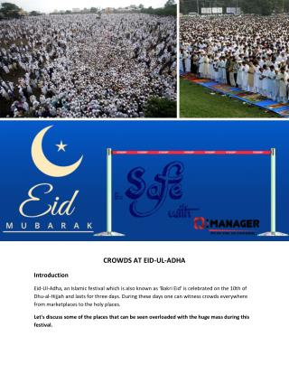 CROWDS AT EID-UL-ADHA | @Q-Manager