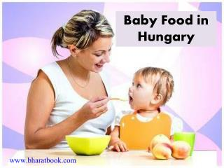 Baby Food in Hungary