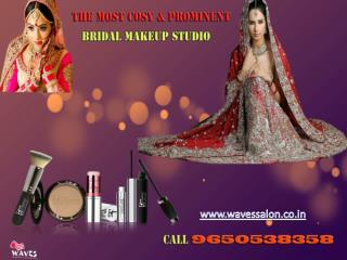 Grab negotiable offers,visit most cosy & prominent bridal makeup studio in noida.