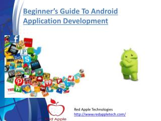 Beginner's Guide to Android Application Development