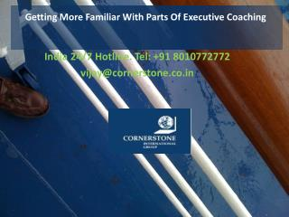 Getting More Familiar With Parts Of Executive Coaching