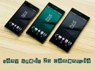 Sony Xperia Z5 Comentario