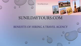Benefits of Hiring a Travel Agency