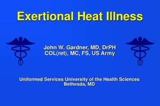 Exertional Heat Illness