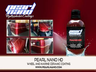 It is super glossy and works great on wheels- Pearl Nano HD