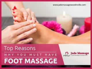 How Foot Massage Enhances your Health