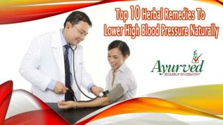 Top 10 Herbal Remedies To Lower High Blood Pressure Naturally