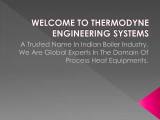 Thermodyne Engineering Systems