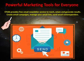 Create and Send Email Newsletters
