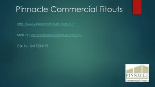 Pinnacle Commercial Fitouts