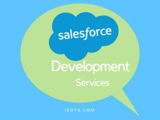 Salesfroce app development services