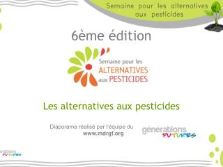6 me  dition       Les alternatives aux pesticides
