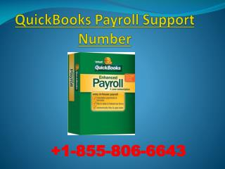 QuickBooks Payroll Tech Support Number and Customer Assistance