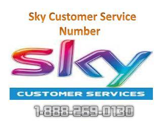 Sky Customer Service 1-888-269-0130