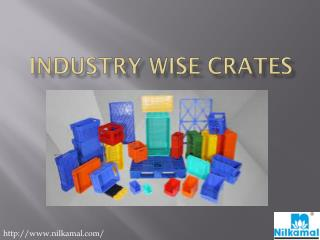 Industry Wise Crates