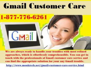 Here is the key benefit of Gmail Customer Care 1-877-776-6261