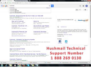 hushmail customer service 1-888-269-0130 number