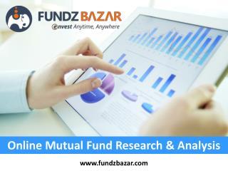 Online Mutual Fund Research & Analysis - FundzBazar