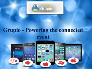 Conference App now available! - Grupio