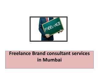 Freelance Brand consultant services in Mumbai