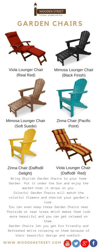 Garden Chair � Online in India at lowest price offer @ Wooden Street