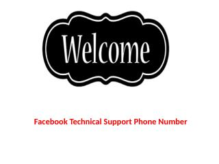 Contact Facebook Technical Support 1-844-442-6444
