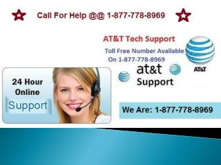 1-877-778-8969 At&t Internet Customer Service Phone Number