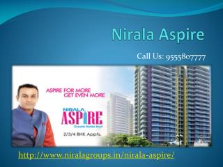Nirala Aspire 2/3/4 BHK residence at Noida Extension