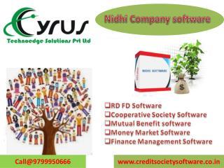 Get Nidhi software with Finsuperb v 4.0