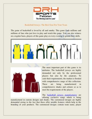 Basketball Jersey Manufacturers, Suppliers Exporters Australia