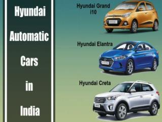 List of Top 3 Hyundai Automatic Cars in India