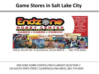 Game Stores in Salt Lake City
