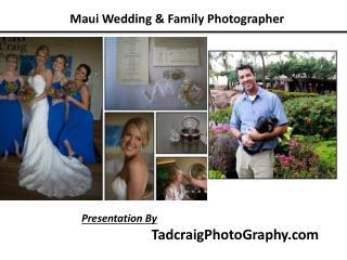 Wedding Photographers -TadcraigPhotoGraphy.com