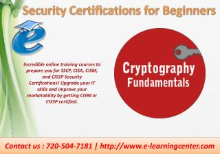 Security Certifications Online Training