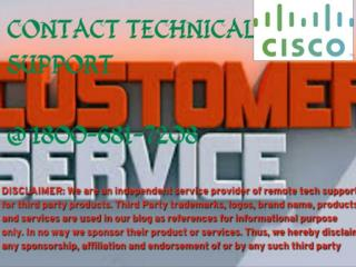 CISCO Tech Support Number ((1800-681-7208)) CISCO ROUTER Error Support phone Number