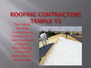 Roof Repairs Dallas Tx