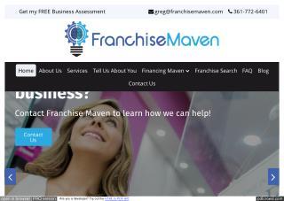 Franchise Opportunities | FRANCHISE MAVEN