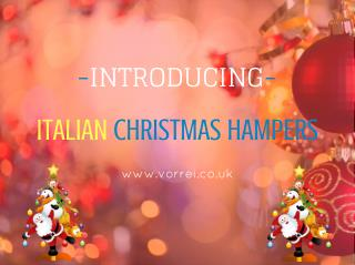 Christmas Food Hamper Collection 2016