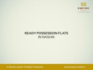 2 & 3 BHK Ready Possession Apartments in Nashik