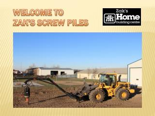 Screw Piles