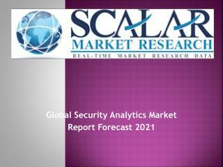 Global Security Analytics Market