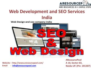 Web development and SEO services India