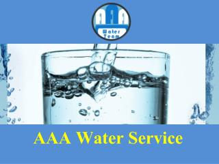 Well Water Systems | AAA Water Service