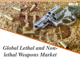 Global Lethal and Non-lethal Directed Energy Weapons Market