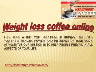 weight loss coffee online