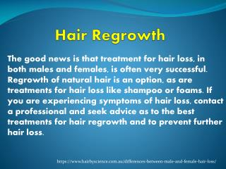 Hair Regrowth for Men in Sydney