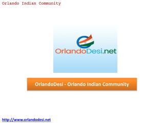 OrlandoDesi - Orlando Indian Community