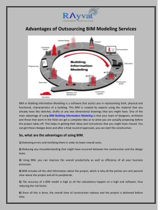 Advantages of Outsourcing BIM modeling services