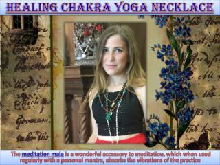 Healing Chakra Yoga Necklace